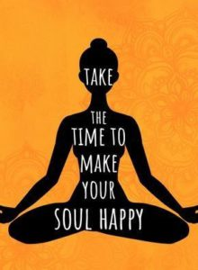 Take The Time To Make The Soul Happy