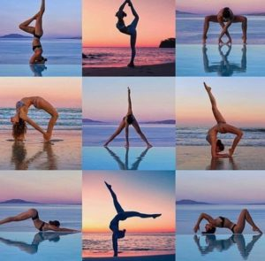 A Montage Of Asanas