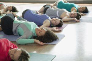 yoga relaxtion class