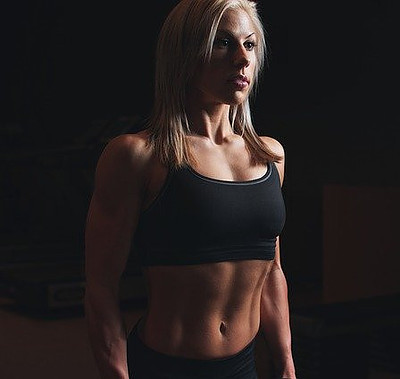 Toned muscles